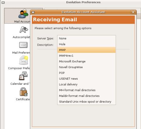 Receiving Email via IMAP